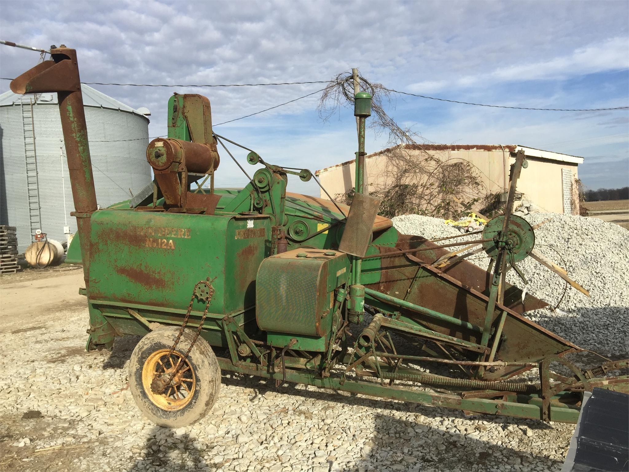 1941 John Deere 12A Combine