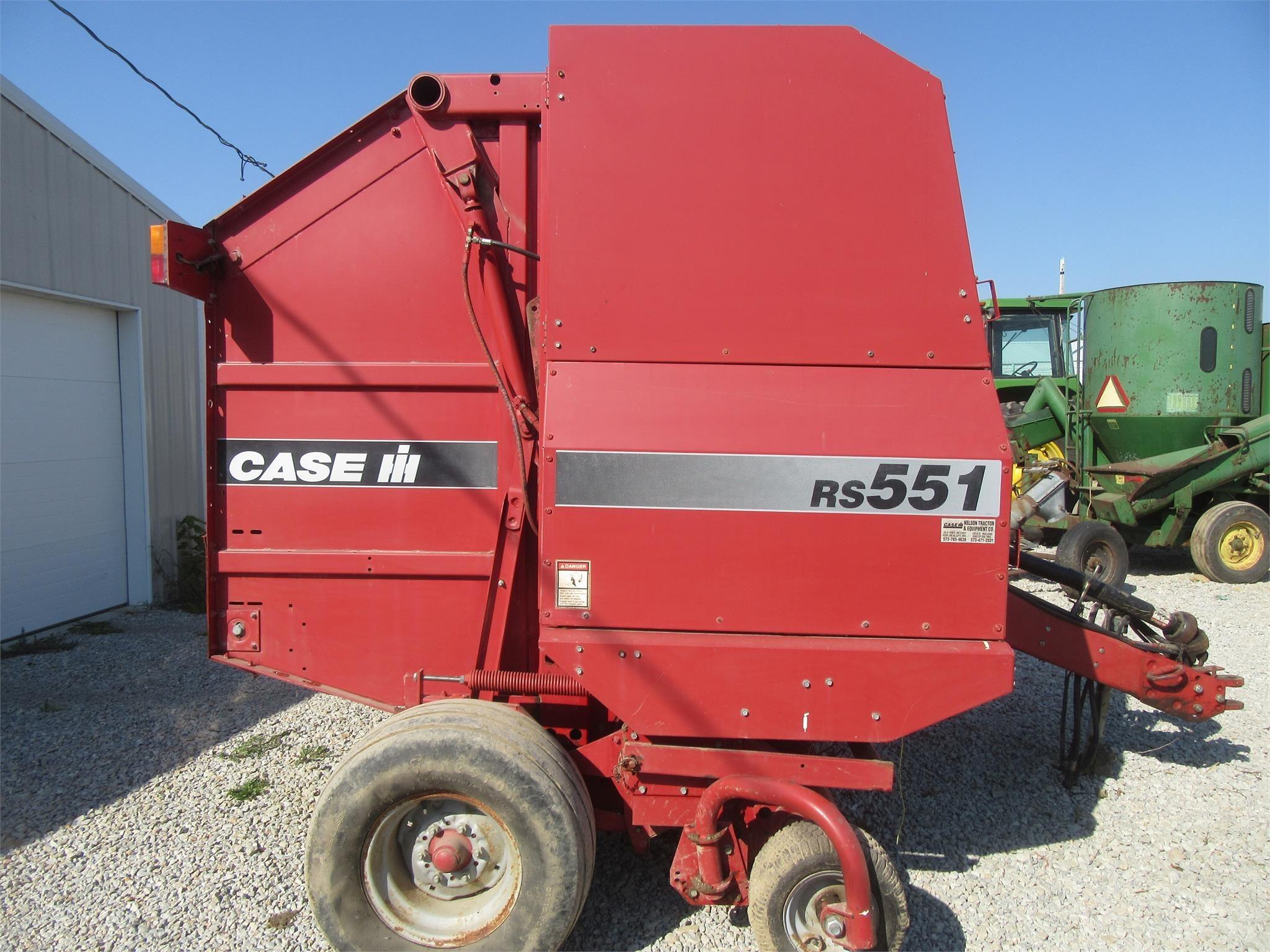 1999 Case IH RS551 Round Baler