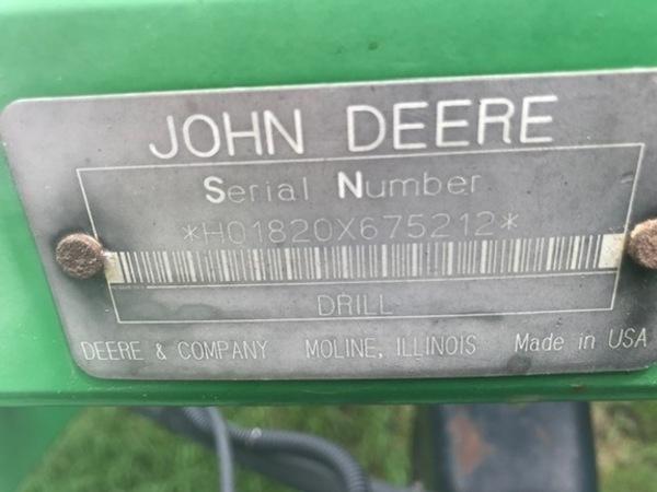1998 John Deere 1820 Air Seeder