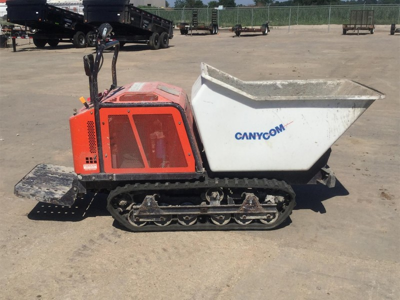 2017 Canycom SC75 Rubber Track Concrete Buggy Miscellaneous