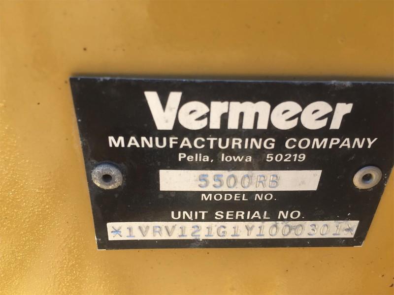 2000 Vermeer 5500 Rebel Round Baler