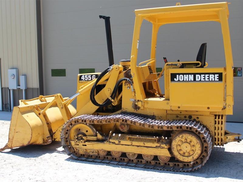 1998 Deere 455G Crawler