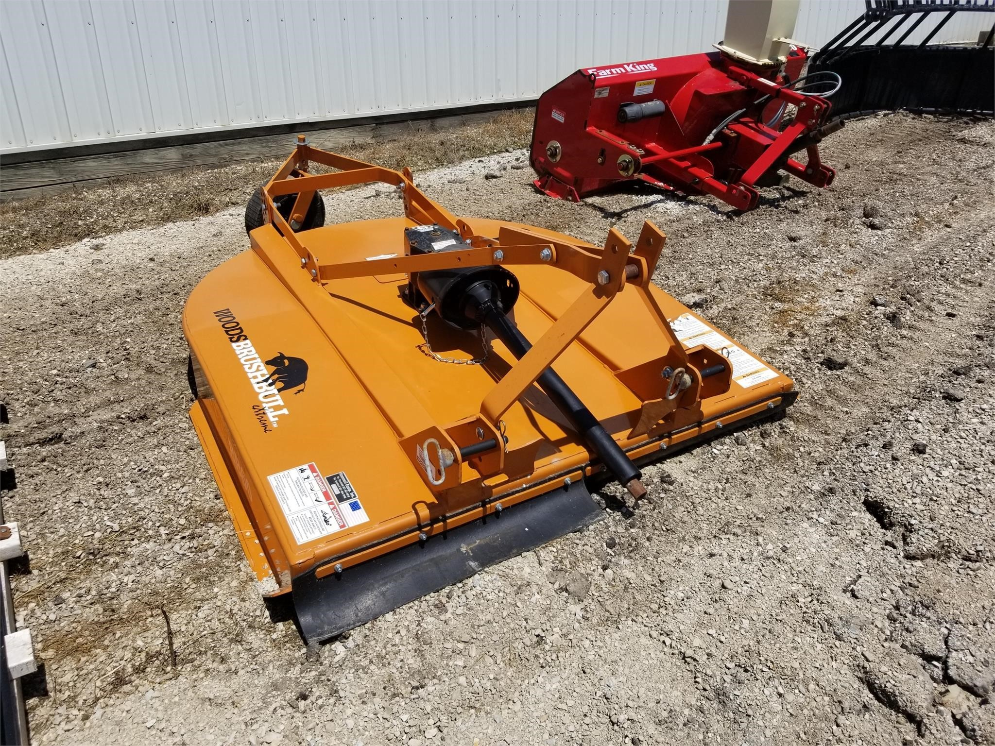 2015 Woods BB60 Rotary Cutter