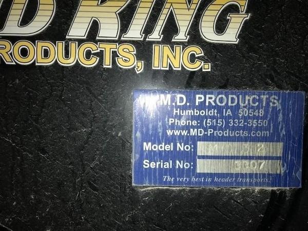 Stud King MD32 Header Trailer