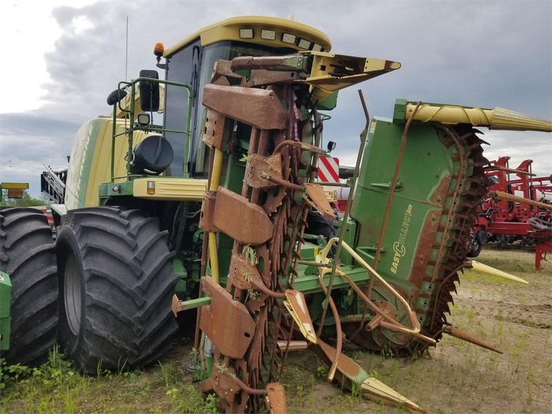 2008 Krone BIG X 650 Self-Propelled Forage Harvester