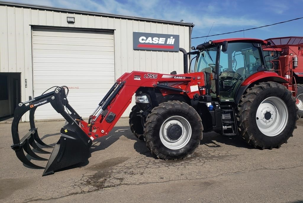 2017 Case IH Maxxum 135 Tractor