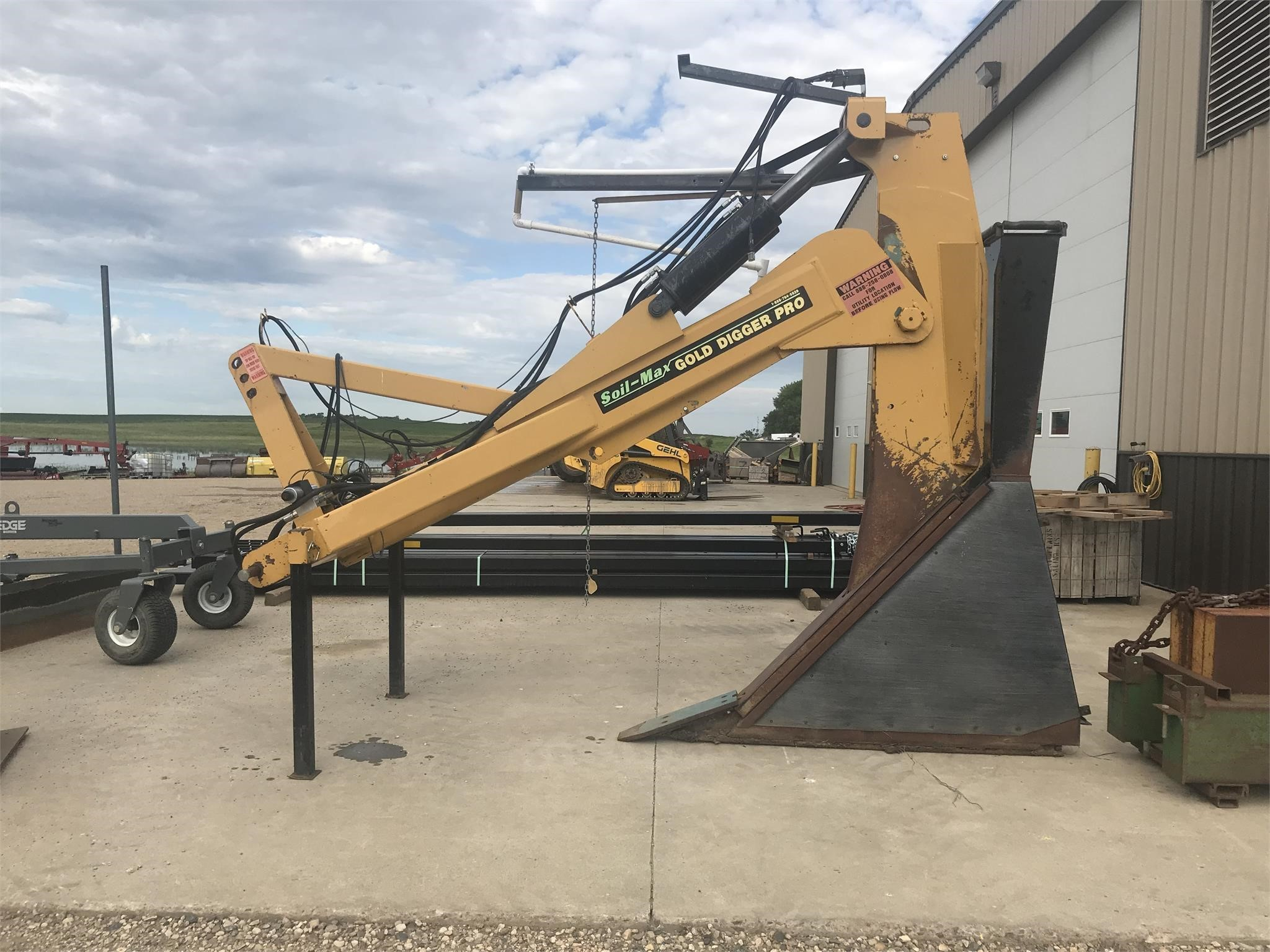 Soil Max gold digger pro Field Drainage Equipment