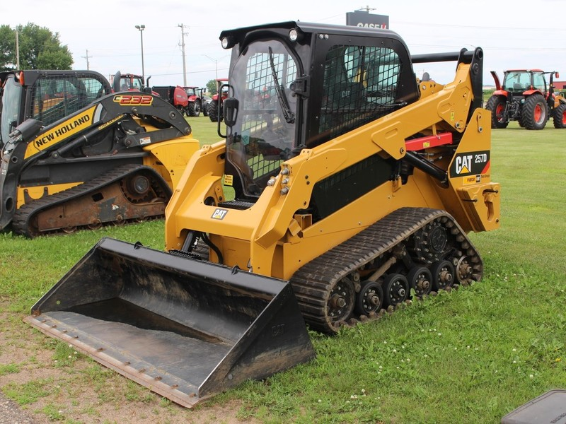Used Caterpillar 257D Skid Steers for Sale | Machinery Pete