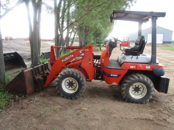 Used Kubota Wheel Loaders for Sale | Machinery Pete