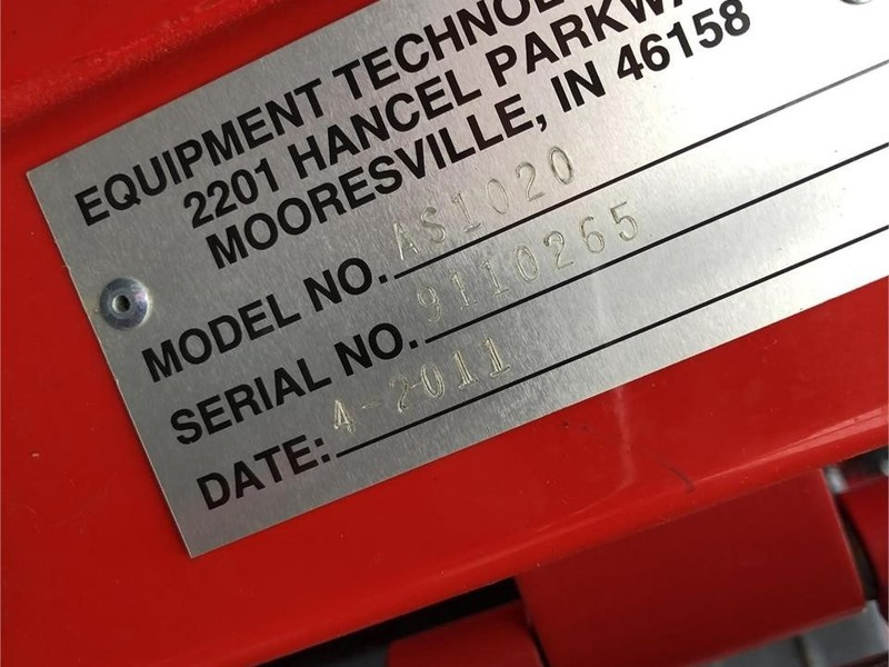 2011 Apache AS1020 Self-Propelled Sprayer