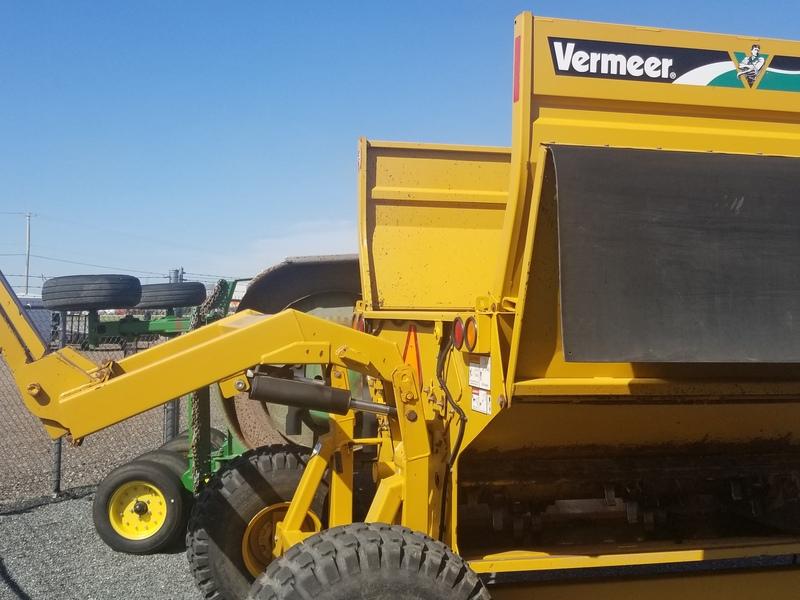 Vermeer BP8000 Grinders and Mixer