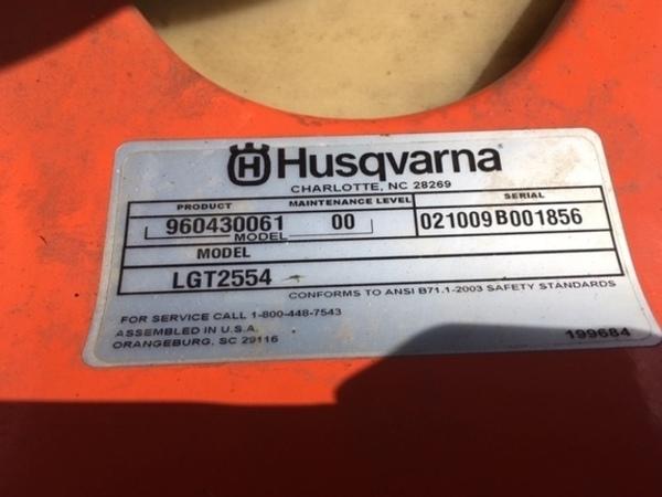 Husqvarna LGT2554 Lawn and Garden