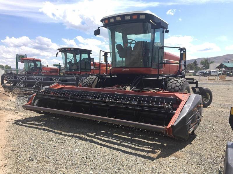 Used Hesston Self-Propelled Windrowers and Swathers for Sale