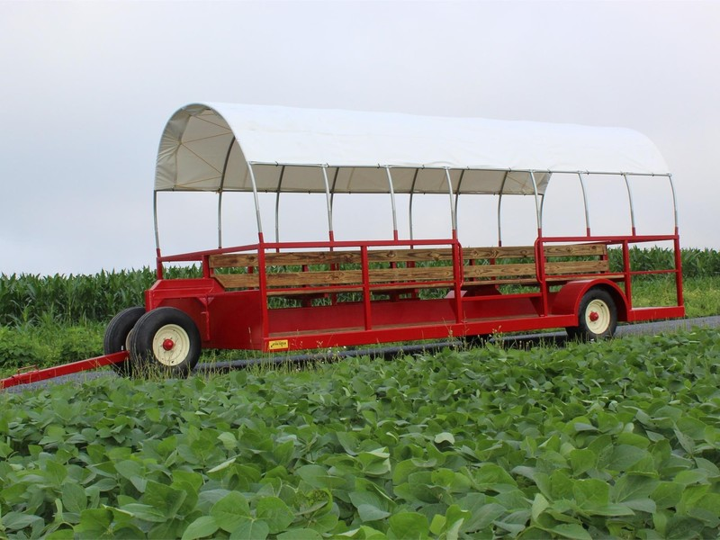 Used Stoltzfus Bale Wagons and Trailers for Sale | Machinery Pete