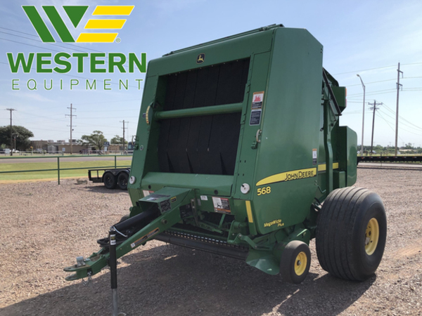 John Deere 568 Round Balers for Sale | Machinery Pete