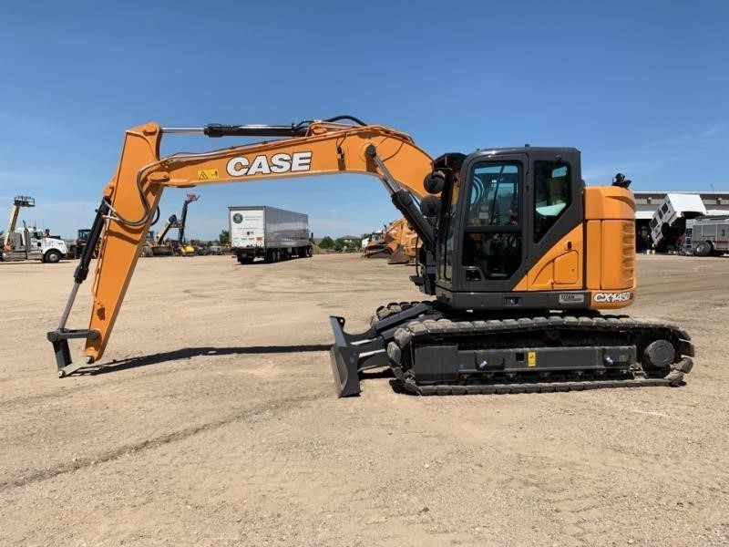 2019 Case CX145DSR Excavators and Mini Excavator