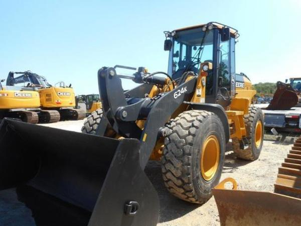 2012 Deere 624K Wheel Loader