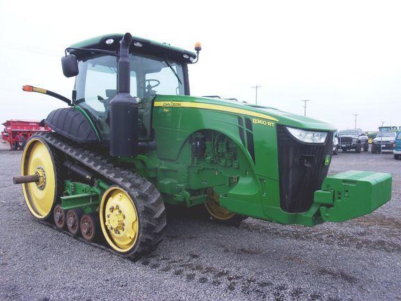 2011 John Deere 8360RT Tractor