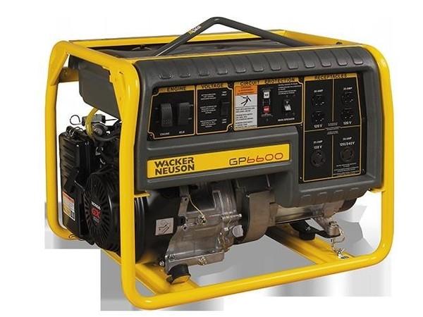 2017 Wacker Neuson GP6600A Generator