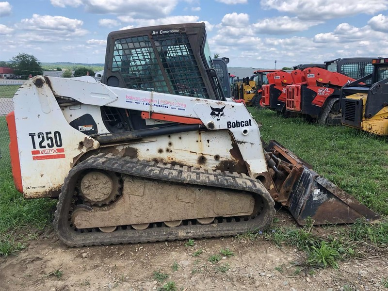 Used Bobcat T250 Skid Steers for Sale | Machinery Pete