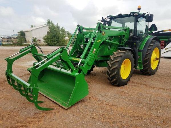 2014 John Deere 6140R Tractor
