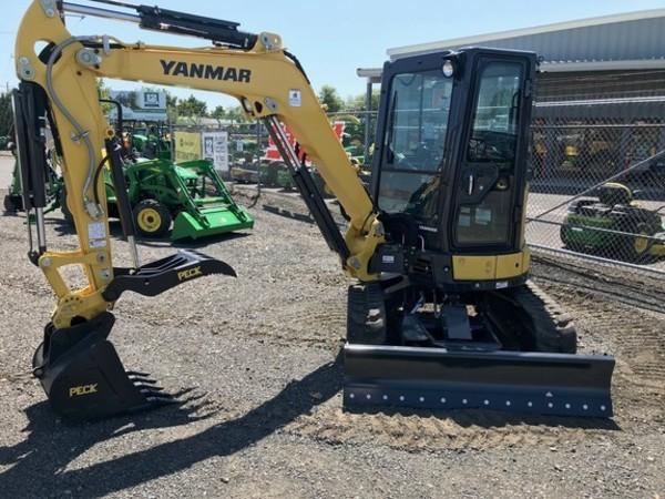 Used Yanmar VIO35-6A Excavators and Mini Excavators for Sale