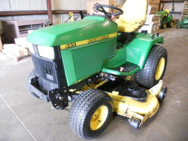 John Deere 445 >> 2000 John Deere 445 Lawn And Garden