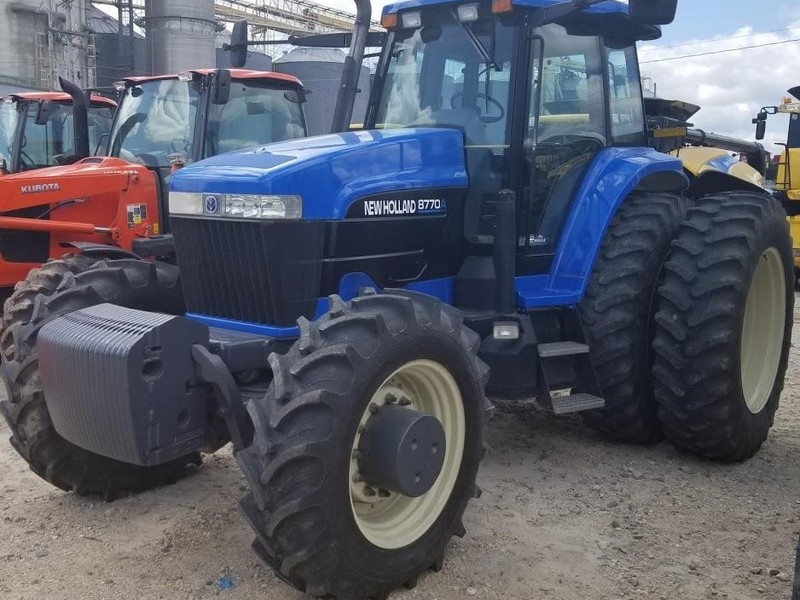 Used New Holland Tractors for Sale | Machinery Pete