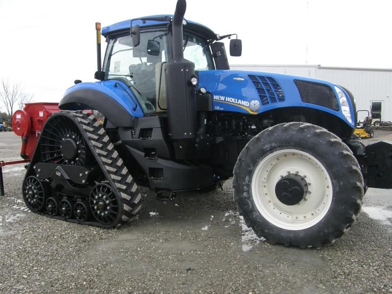 2017 New Holland Genesis T8.410 SmartTrax Tractor
