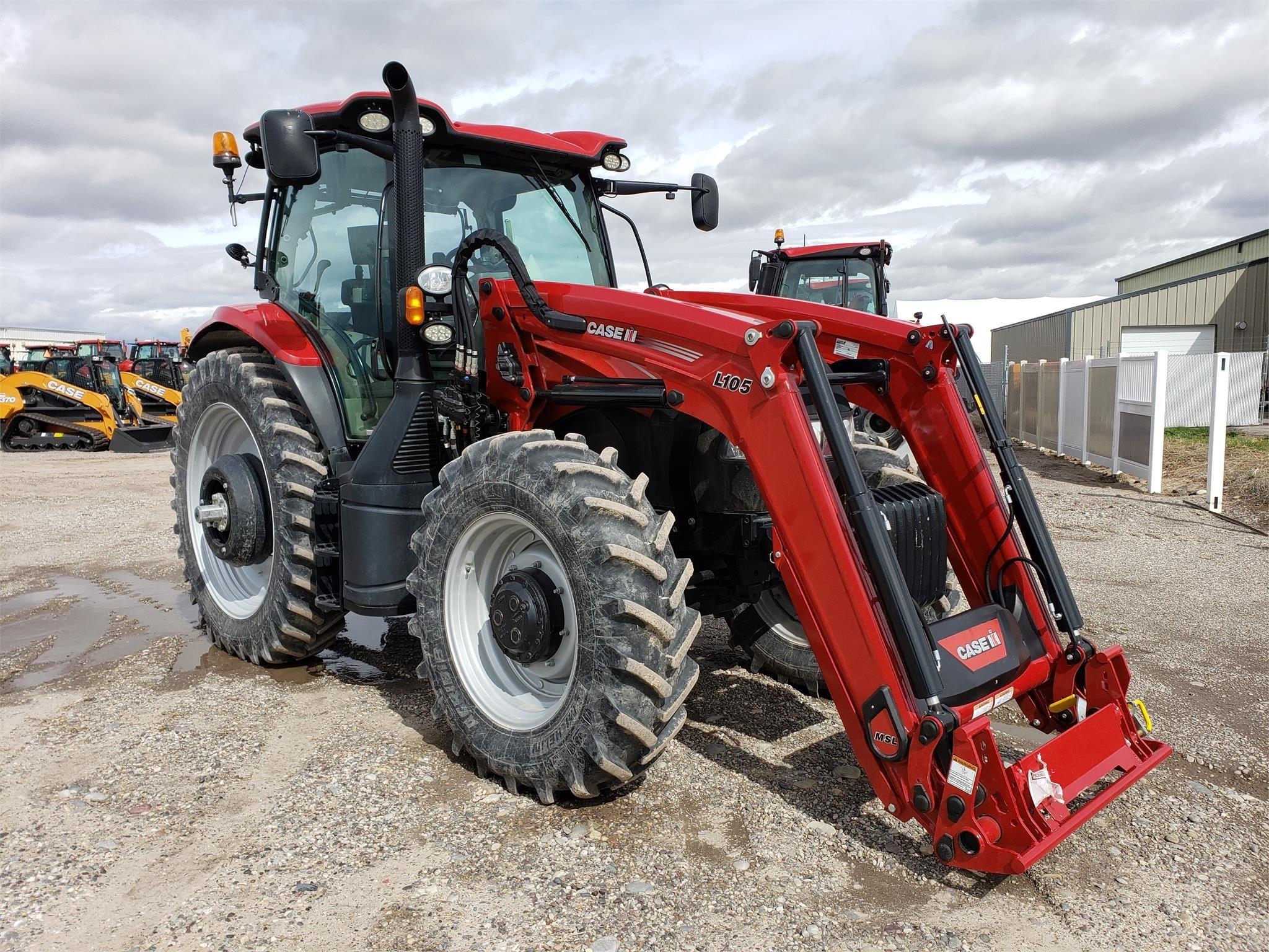 2016 Case IH MAXXUM 125 MC Tractor