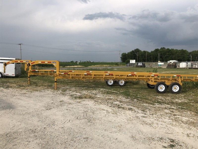 2019 M&W MW36HDNL Bale Wagons and Trailer