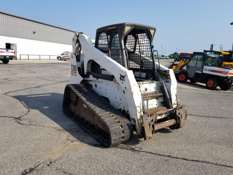 Used Bobcat T300 Skid Steers for Sale   Machinery Pete