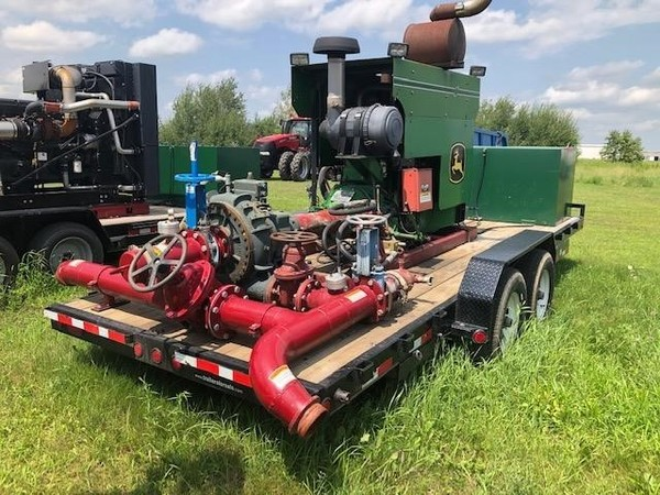 Hydro Engineering B15 Manure Pump - Menomonie, Wisconsin