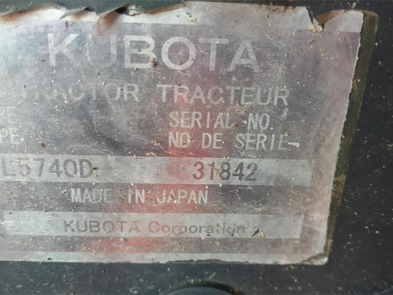 2008 Kubota L5740HSTC Tractor