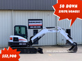 2016 Bobcat E55 Excavators and Mini Excavator