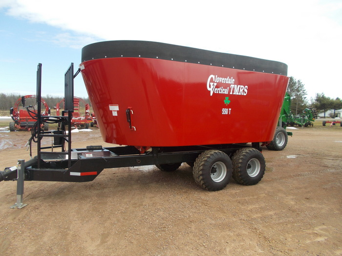 2019 Cloverdale 550T Grinders and Mixer