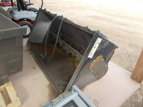 Woodchuck 80 STI Loader and Skid Steer Attachment