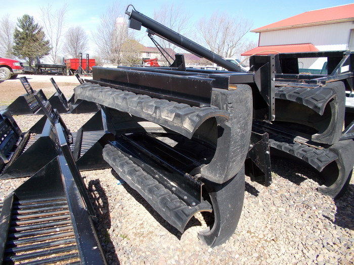 Hoover Tire Scraper Loader and Skid Steer Attachment
