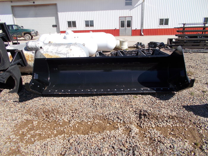 Hoover SnoPusher Loader and Skid Steer Attachment