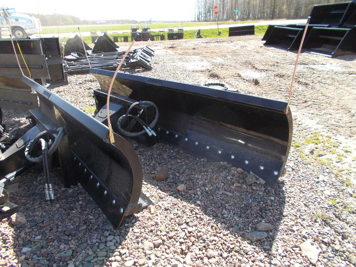 Hoover Snow Plow Loader and Skid Steer Attachment