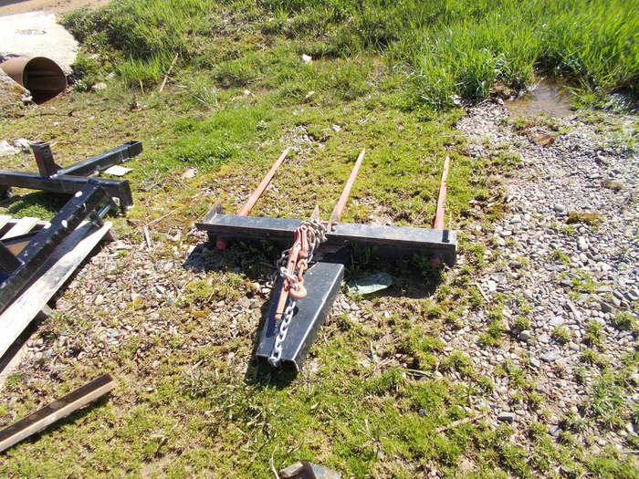 Hoover 3 Prong Attachment Loader and Skid Steer Attachment