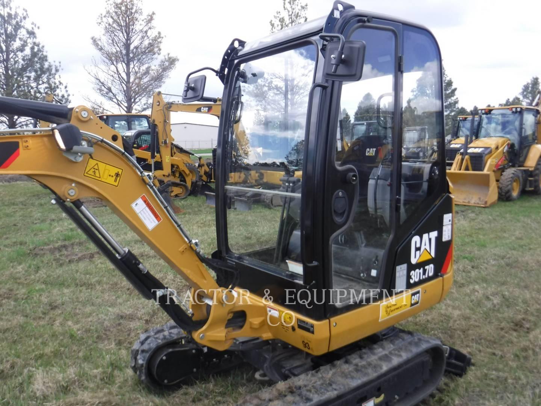 2016 Caterpillar 301.7D Excavators and Mini Excavator