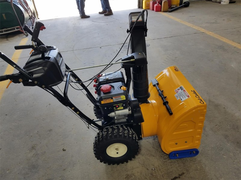Used Cub Cadet Snow Blowers for Sale | Machinery Pete