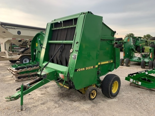 John Deere 535 Round Balers for Sale | Machinery Pete