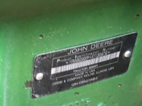 2018 John Deere 8295R Tractor