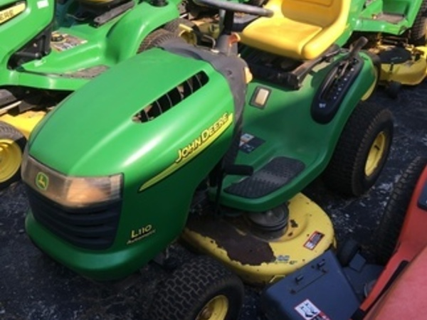 John Deere L110 Lawn and Garden for Sale   Machinery Pete on john deere l118 wiring harness, john deere 112 wiring schematics, john deere b wiring harness, john deere 1020 wiring harness, john deere tractor wiring harness, john deere 317 wiring harness, john deere mower wiring diagram, john deere m wiring-diagram, john deere 4020 wiring harness, john deere pto switch wiring, john deere neutral safety switch, john deere gator wiring harness, john deere lx176 parts, john deere 3020 wiring harness, john deere wiring harness diagram, john deere 110 wiring diagram, john deere lx176 wiring-diagram, john deere 160 wiring harness, john deere l120 wiring schematic, john deere 2020 wiring schematic,