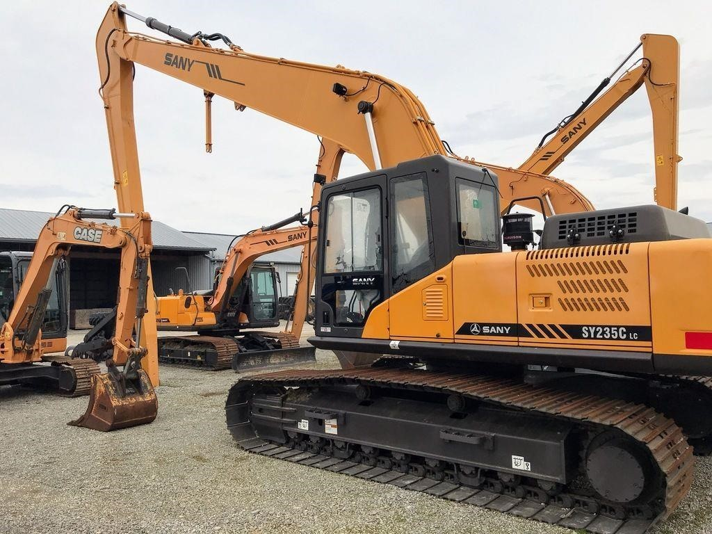 2015 Sany SY235C Excavators and Mini Excavator