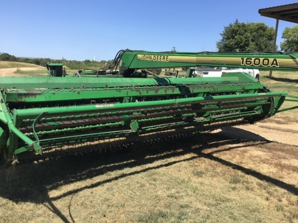 Used John Deere Pull-Type Windrowers and Swathers for Sale