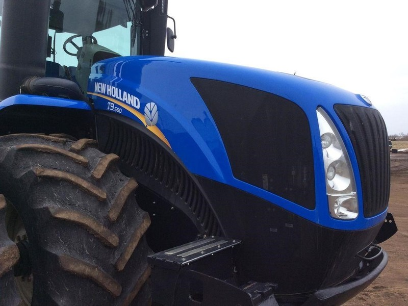 2012 New Holland T9.560HD Tractor