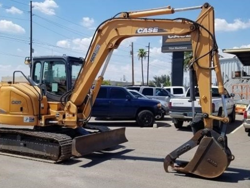 2012 Case CX80 Backhoe